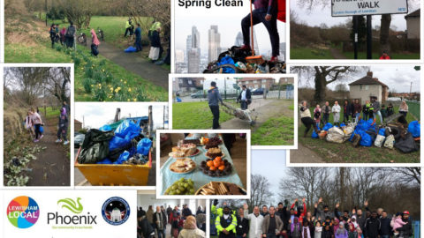 Downham and Whitefoot Spring Clean