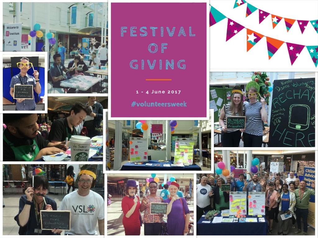 Lewisham Volunteers Week 2017
