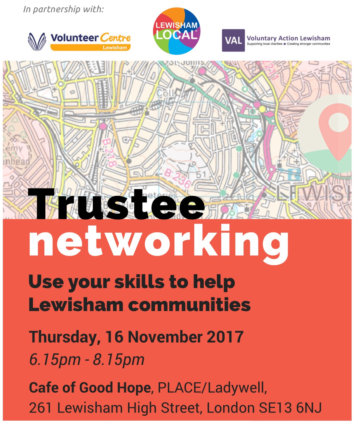 Trustee Networking Event for #TrusteesWeek | 16 Nov 2017