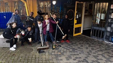 Woodpecker Youth Club Spring Clean